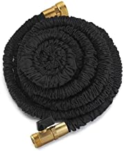 Dap Xhose PRO The Original Expanding Hose with Black Solid Brass Fittings, 50-Feet X Hose (50 Ft. Xhose) by Emson