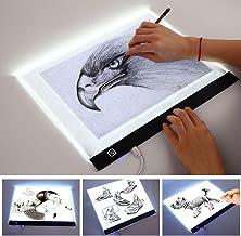 LED-lichtbak, A3-lichtbak Ultradunne draagbare tekentafel, USB-netsnoer/led-lichtpad, dimbare helderheid, gebruikt voor ku...