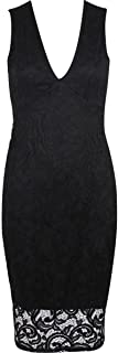 Best missguided plunge neck lace dress Reviews