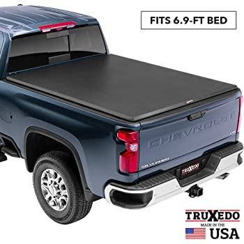 """TruXedo TruXport Soft Roll Up Truck Bed Tonneau Cover   272001   fits 14-18, 2019 Limited/Legacy GMC Sierra & Chevrolet Silverado 1500, 2500HD, 3500HD 6'6"""" bed"""