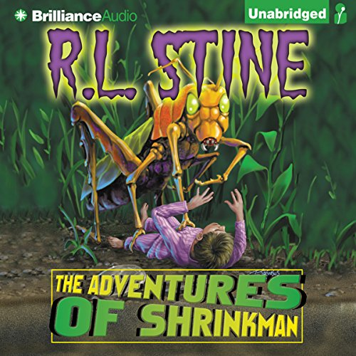 The Adventures of Shrinkman audiobook cover art