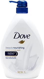 Dove Beauty Nourishing Body Wash, 1L