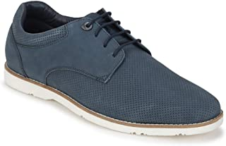Van Heusen Men's Leather Sneakers