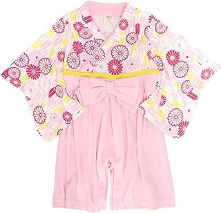 袴 ロンパース 赤ちゃん はかま 和装 カバーオール ベビー 女の子 フォーマル