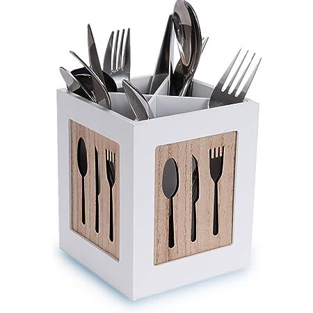 Marrone chiaro Tapas Dimensioni: 13 x 13,5 x 16 cm Friends Westmark Organizer da cucina 5 scomparti Bamb/ù 69842270