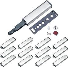 Jiayi Drukdeuropener, kast, push-to-open magneet, deuropener, 12 stuks, meubels, drukopener, kastdeur, tip, on voor deure...