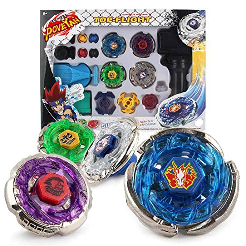 Poveyan Bey Battle Blade Metal Fusion Starter Set with 4D