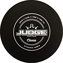 Dynamic Discs Disc Golf Classic Hard Judge Disc Golf Disc (Colors will Vary) 170-176g