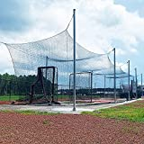 Hit Run Steal Batting Cage for Baseball and Softball. UV Treated Indoor/Outdoor Heavy Duty...