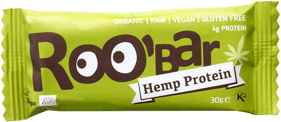 roobar – Barra Energética Bio & Vegan – cáñamo Proteína ...