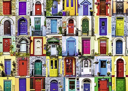 Ravensburger Doors of The World - Puzzle de 1000 Piezas para Adultos - Cada Pieza es única, tecnología Softclick Significa Piezas encajan Perfectamente
