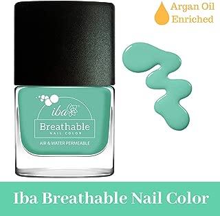 Iba Halal Care Breathable Nail Color, B19 Aqua Swirl, 9ml