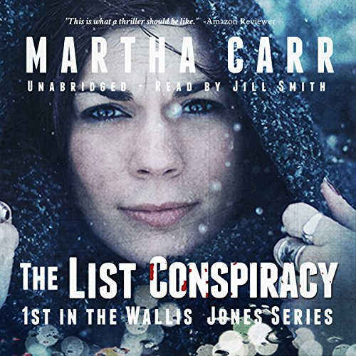 The List Conspiracy audiobook cover art
