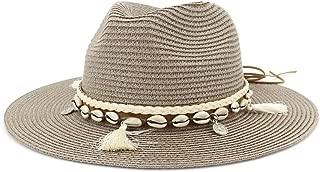 Sun Hat for men and women Summer Women Men Straw Sun Hat Classic Lady Floppy Hat Wheat Straw Beach Hat Size 56-58CM