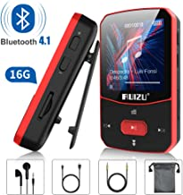 Clip Mp3 Player with Bluetooth 4.1, 16GB Lossless Sound Music Player, with FM Radio Voice..