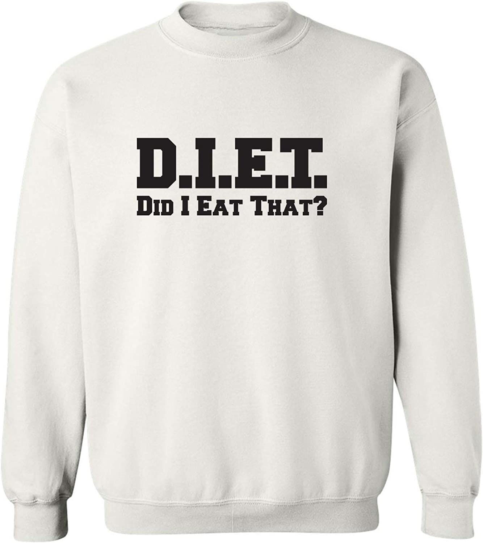 zerogravitee D.I.E.T. Did I Eat That? Crewneck Sweatshirt
