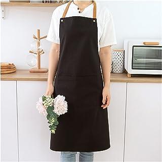 Aprons المئزر المطبخ المنزلية مخصص العمل الملابس بائع الزهور النساء أزياء العباءات للبالغين، المطبخ الطبخ البكارة المئزر f...