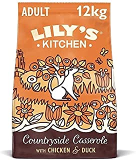 Lily's Kitchen Chicken and Duck Countryside Casserole Natural Grain Free Complete Adult Dry Dog Food (12 kg)