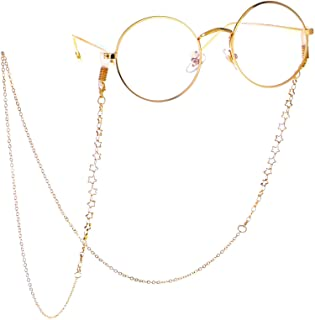 LUFF Anti-Skid Reading Glasses chain Glasses Strap retro metal chain sunglasses glasses holder