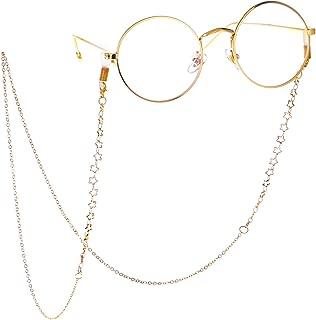 Best gold chain glasses holder Reviews