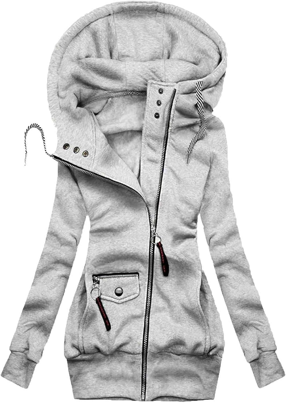 Tantisy Women Good-looking Cardigan Winter Jac Basic Hooded Tops Max 85% OFF trust