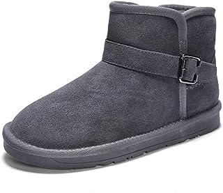 Stile Sport per Uomo Comodo Inverno Faux Fleece Inside High Top Boot Yajie-boots Stivaletti alla Moda Casual Color : Marrone, Dimensione : 43 EU Optional Convenzionale