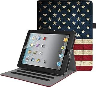 حافظة Fintie لجهاز iPad 2 3 4 (الطراز القديم) 9.7 بوصة تابلت - [حماية الزاوية] غطاء حامل ذكي متعدد الزوايا مع جيب، النوم ا...