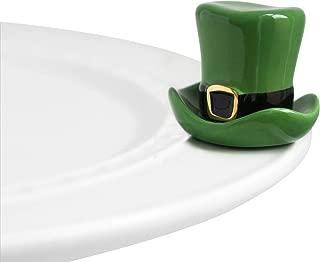 Nora Fleming Hand-Painted Mini: Spot o' Irish (St. Patty Hat) A87