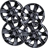 16 inch Hubcaps Best for 2010-2011 Toyota Camry - (Set of 4) Wheel Covers 16in Hub Caps Black Rim Cover - Car Accessories for 16 inch Wheels - Snap On Hubcap, Auto Tire Replacement Exterior Cap)