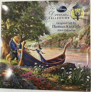 The Disney Dreams Collection 2018 Calendar Beauty and The Beast