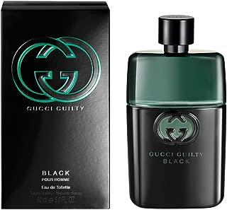 Gûcci Guilty Black Pour homme Eau De Toilette Spray For Men 3.0 OZ/ 90 ML