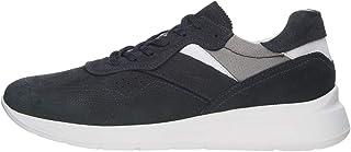 Nero Giardini E001494U Sneakers Uomo in Pelle E Tela