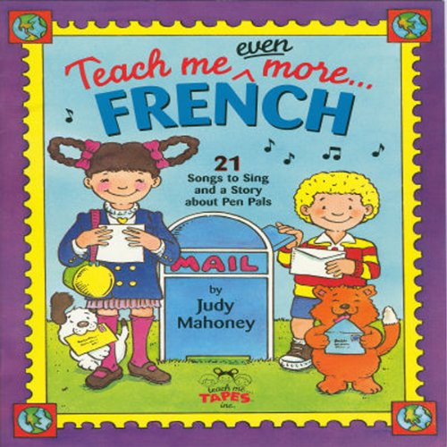 Teach Me Even More French  audiobook cover art