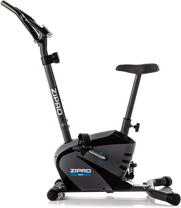 Cyclette magnetiche per adulti, per fitness, fino a 120 kg, massa volano di 6 kg, nero, taglia unica - zipro 1592574