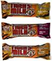 Tiger's Milk Protein Nutrition Bar 3-Case Variety Pack, Energy-Packed Snack, Zero Trans Fats, Fortified with Vitamins & Minerals, 1.23oz (Pack of 72)