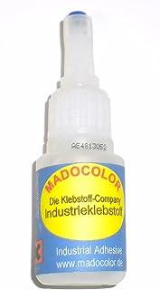 Pegamento industrial dental Madocolor para pegar yeso y casi todos los otros materiales 10g. Pega casi todos los materiales.