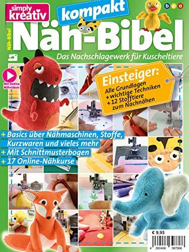 Näh-Bibel kompakt:: Das Nachschlagewerk für Kuscheltiere