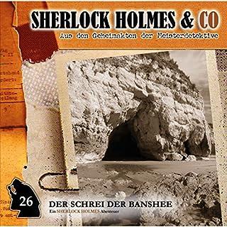 Der Schrei der Banshee 1     Sherlock Holmes & Co 26              Autor:                                                                                                                                 Oliver Fleischer                               Sprecher:                                                                                                                                 Charles Rettinghaus,                                                                                        Florian Halm,                                                                                        Sascha Rotermund                      Spieldauer: 46 Min.     9 Bewertungen     Gesamt 4,0