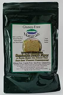 Gluten-Free Naturals Gluten Free Sandwich Bread Flour (Pack of 6)