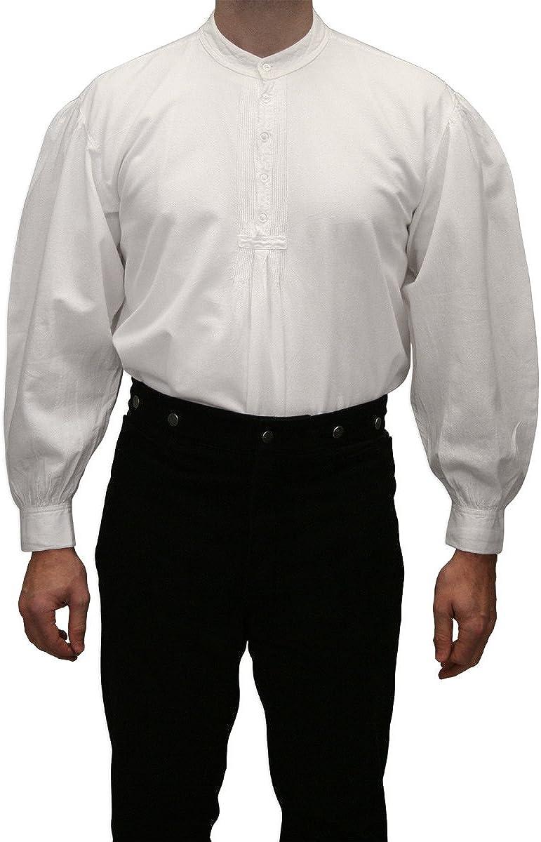 Historical Emporium Men's Fundamental Cotton Work Shirt