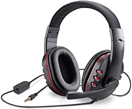 Picozon Gaming Headset Headphone with Microphone for PS4, Nintendo Switch, Playstation 4, Playstation Vita, Mac, Laptop, T...
