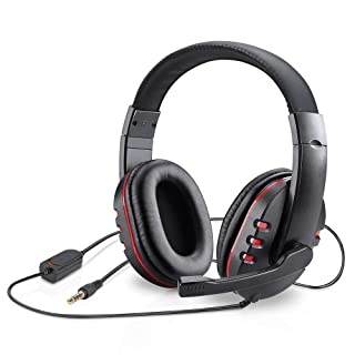 Picozon 3.5mm Plug Gaming Headset Headphone with