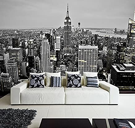Merveilleux Fotomural Vinilo Pared Nueva York Blanco Y Negro | Fotomural Para Paredes |  Mural | Vinilo