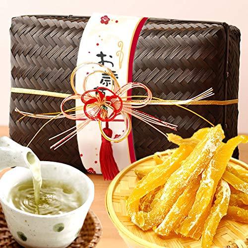 お歳暮ギフト おいもや干し芋 ギフトセット お年賀 お菓子 の プレゼント 御歳暮 玉手箱 (黒色)
