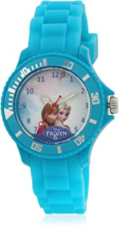 Disney Analog Multi-Colour Dial Girl's Watch - AW100439
