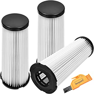 KEEPOW 3 Pack F1 Replacement HEPA Filter for Dirt Devil Featherlite Upright Vacuum, Parts# 2JC0280000, 3-JC0280-000