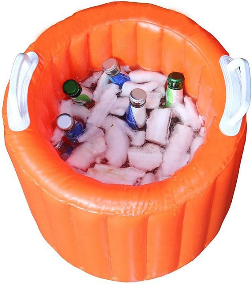 VOSAREA Outdoor Lowest price challenge Ranking TOP14 Porable PVC Inflatable Foldable Bucket Bucke Ice