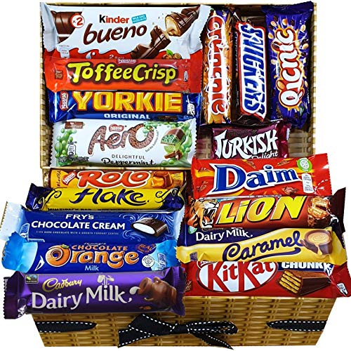 Chocolate Lovers Hamper Gift Box Perfect Chocolate Treat for Any Occassion