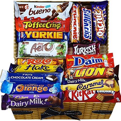 Schokoladenauswahlbox Perfekte Geschenkbox für Alle Schokoladenliebhaber