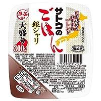 サトウ食品 サトウのごはん 銀シャリ 大盛り  300g×24(6×4)個入×(2ケース)